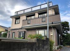 京都市 H様邸 外壁塗装工事