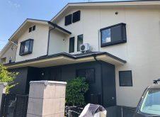 京都市 A様邸 外壁・屋根塗装工事